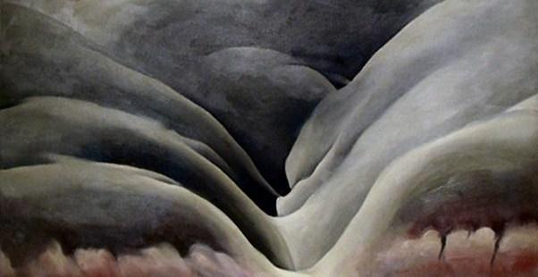 Georgia O'Keeffe - Black Place II